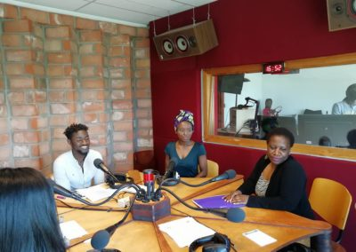 Afri KA @ Radio campus