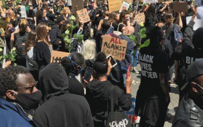 Mobilisation: Mort de George Floyd, les manifestations de plus en plus populaires