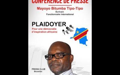 DÉMOCRATIE D'INSPIRATION AFRICAINE, un plaidoyer de MAYOYO Bitumba Tipo-Tipo.